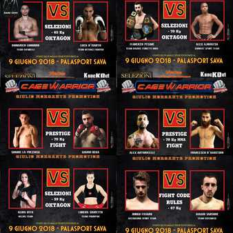 Cage Warrior Italy 9