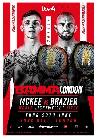 BAMMA Fight Night London