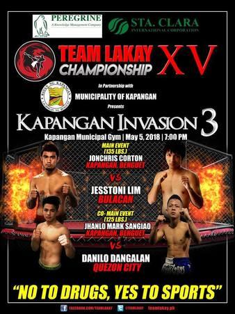 Team Lakay Championship XV
