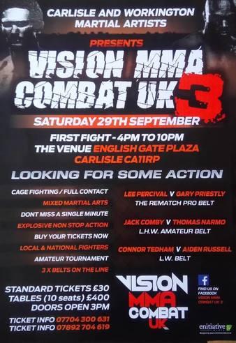 Vision MMA Combat UK 3