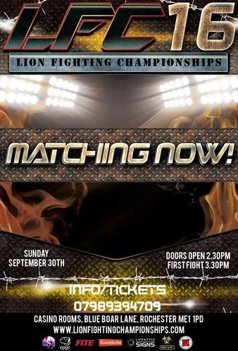 Lion Fighting Championships 16