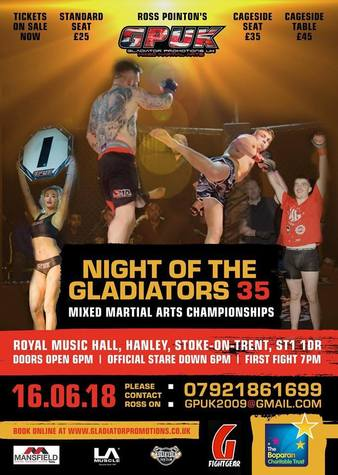 Night of the Gladiators 35