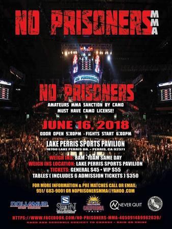 No Prisoners MMA 1