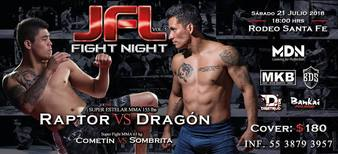 JFL Fight Night Vol 5