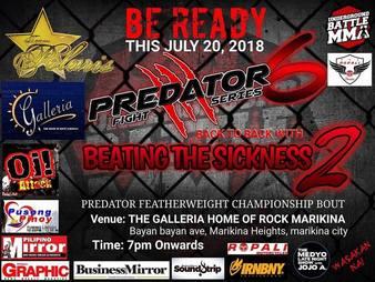 Predator Fight Series 6