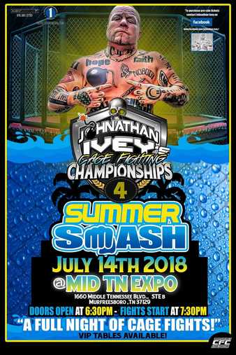 Johnathan Ivey's Cage Fighting Championships 4