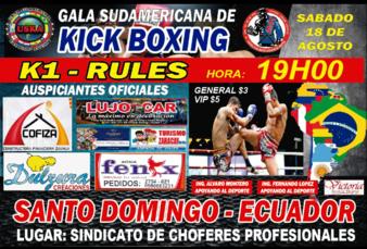 Kickboxing Sudamericana