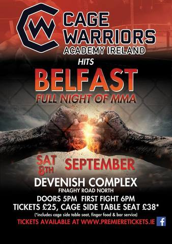 Cage Warriors Academy Ireland 1