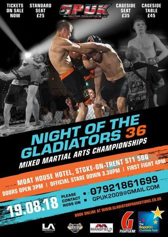 Night of the Gladiators 36