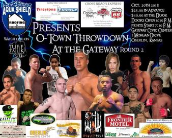 Conquest Promotions: O-Town Throwdown at the Gateway | MMA