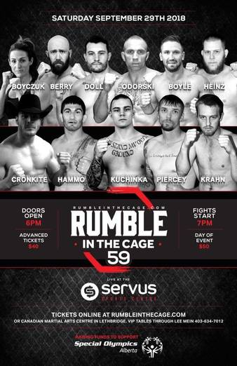 Rumble in the Cage 59
