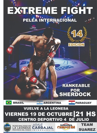 Extreme Fight Chaco 14