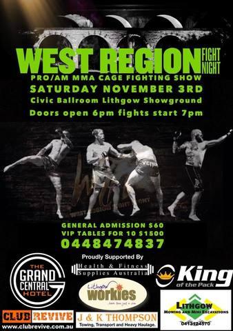 West Region Fight Night 5 | MM...