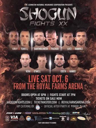 Shogun Fights 20