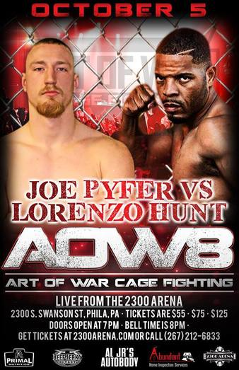 Art of War Cage Fighting 8