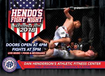 Hendo's Fight Night 1
