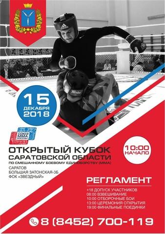 Saratov Open Cup 2018
