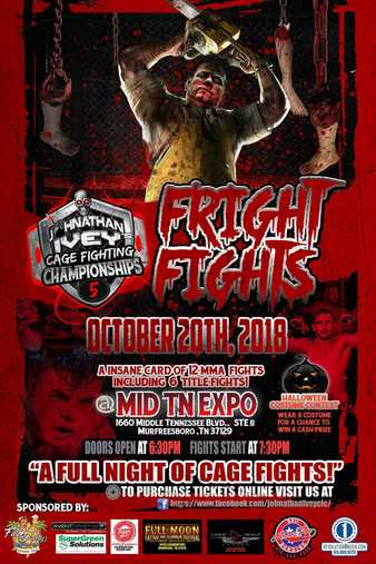 Johnathan Ivey's Cage Fighting Championships 5
