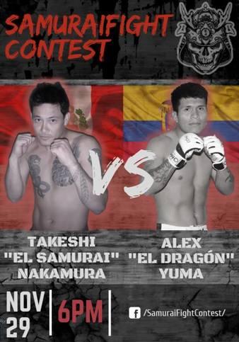 Samurai Fight Contest 1