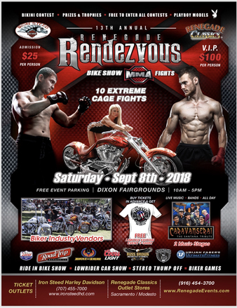 13th Annual Renegade Rendezvous