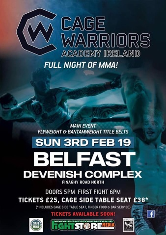 Cage Warriors Academy Ireland 2