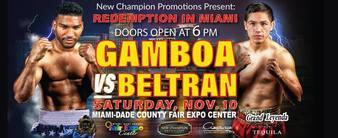 Gamboa vs. Beltran