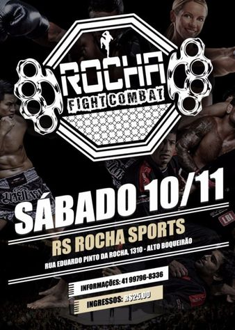 Rocha Fight Combat 1