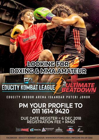 Ultimate Beatdown + Educity Combat League