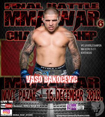 MMA WAR 6