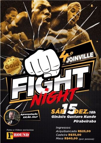 Joinville Fight Night 4