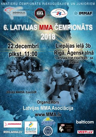 Latvian MMA Championship 2018
