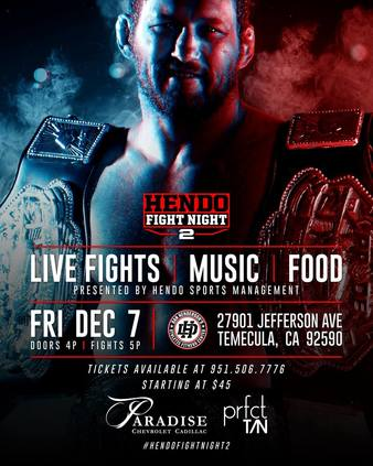 Hendo's Fight Night 2