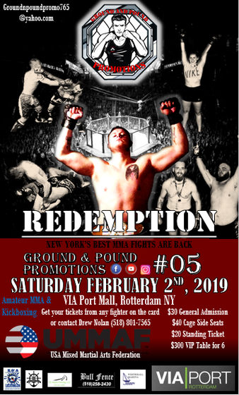 Ground & Pound Promotions
