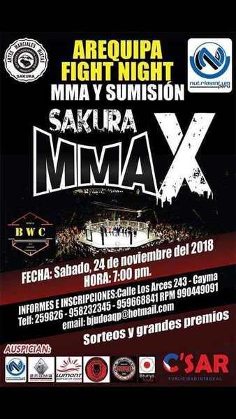 Sakura MMA X