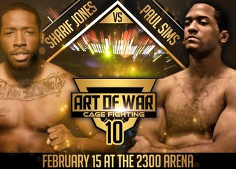 Art of War Cage Fighting 10