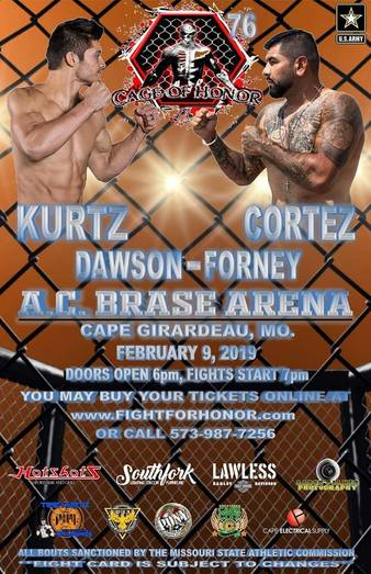 Cage of Honor 76