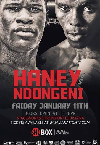 Haney vs. Ndongeni