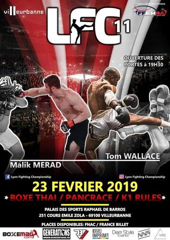 Lyon Fighting Championship 11