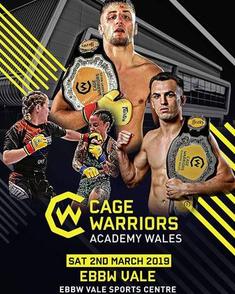 Cage Warriors Academy Wales 3
