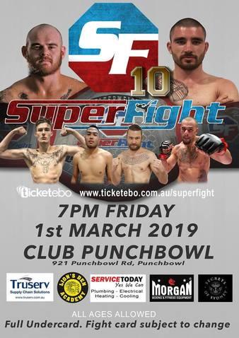 Superfight MMA 10