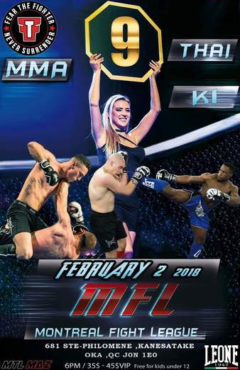 Montreal Fight League 9