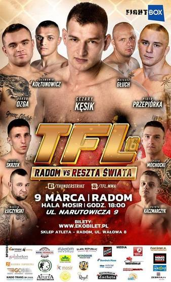 Thunderstrike Fight League 16
