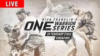 ONE Warrior Series 4