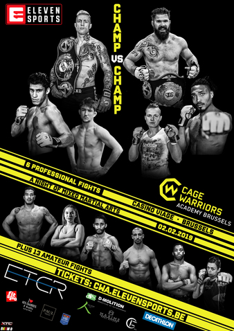 Cage Warriors Academy Brussels 1