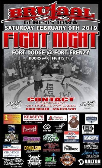 Brutaal Genesis Fight Night
