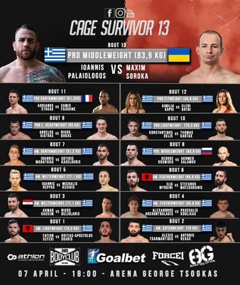 Cage Survivor 13