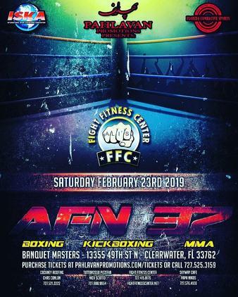 Amateur Fight Night 37