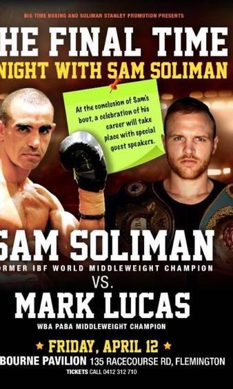 Soliman vs. Lucas