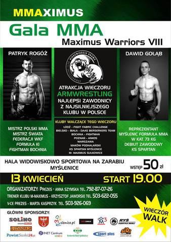 Maximus Warriors 8