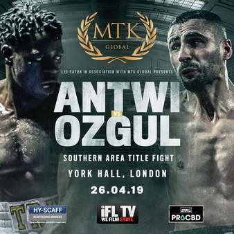 Antwi vs  Ozgul | Boxing Event | Tapology
